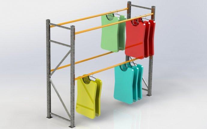 Купить стеллажи для хранения одежды по выгодным ценам | Компания