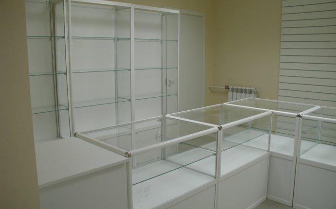 Прилавки и витрины для магазинов из алюминиевого профиля