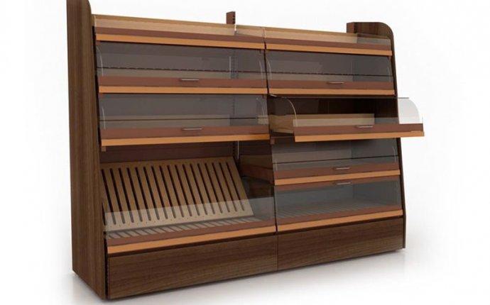 Продажа деревянных хлебных стеллажей (для выпечки) для магазинов