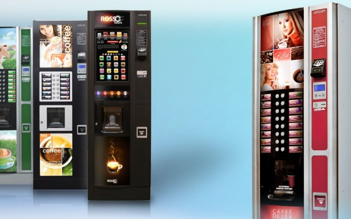Виды торговых автоматов Unicum