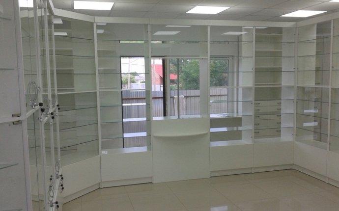 витрины для аптек на заказ в Красноярске