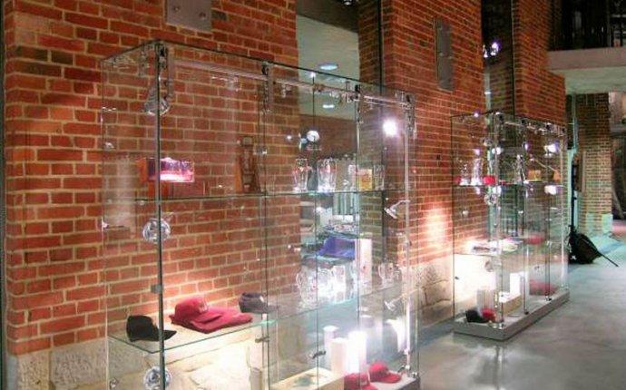 Витрины стеклянные | Витрины из стекла | Изготовление витрин с